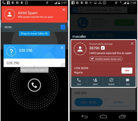 truecaller vs du caller review identify and block spam calls on android tech viola
