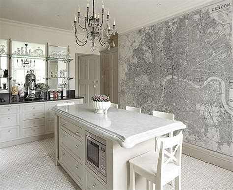 Wallpaper Ideas For Kitchen by 18 Creative Kitchen Wallpaper Ideas Ultimate Home Ideas