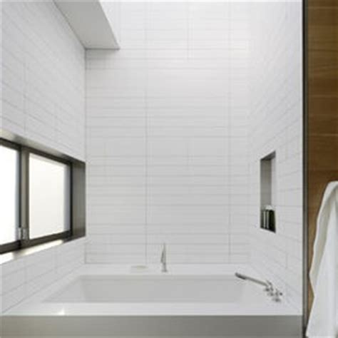 daltile modern dimensions 4x12 white stacked tile design