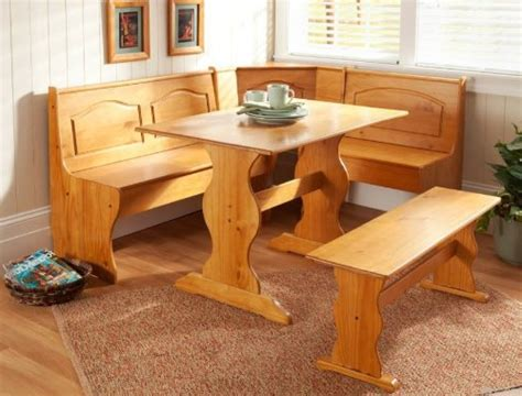 Kitchen Nook Dining Set by Breakfast Nook Dining Set Country Kitchen Table Booth