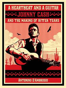 Johnny Cash Poster : a heartbeat and a guitar johnny cash obey giant ~ Buech-reservation.com Haus und Dekorationen