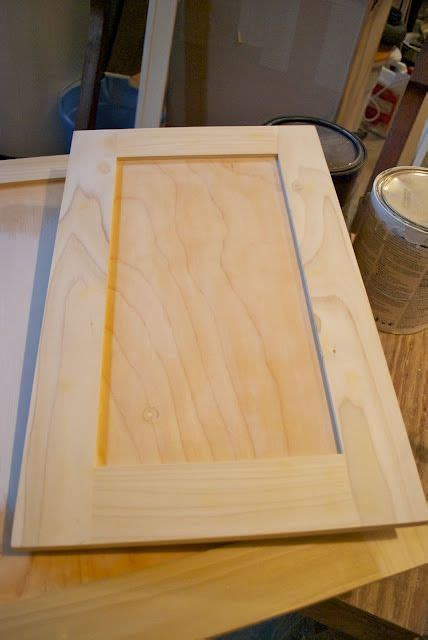 adding molding to flat kitchen cabinets adding flat trim to existing cabinet doors diy 9008