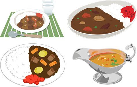 cuisine e clipart japanese curry rice 3