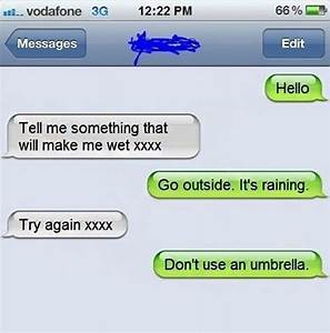 25 Funny Flirty Texts Comebacks That Rules Rejection ...