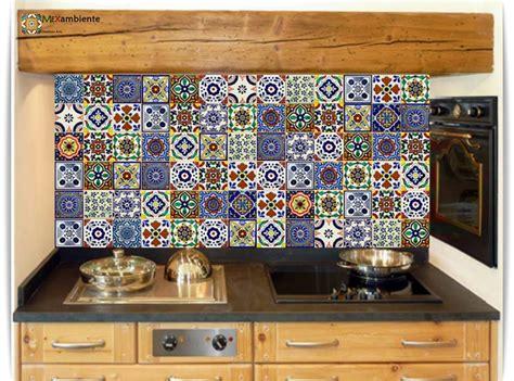 Dekorfliesen Kuche by Bunte Mexiko Fliesen F 252 R Den Fliesenspiegel In Der K 252 Che