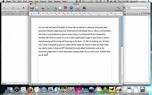 bean somewhere between textedit and microsoft word With word documents for apple