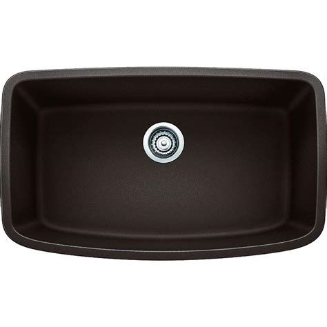 blanco granite kitchen sinks blanco valea undermount granite composite 32 in 4778