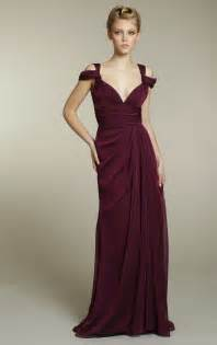 chagne color bridesmaid dress chiffon bridesmaids dress in rich maroon color onewed