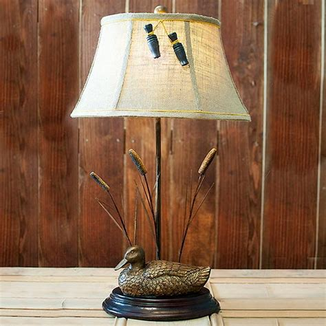 marsh duck table lamp cabin place