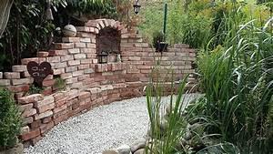 Alte Ziegelsteine Im Garten : meine garten ruine steinmauer garten garten ~ A.2002-acura-tl-radio.info Haus und Dekorationen