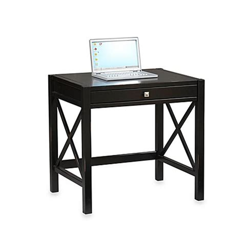 bed bath and beyond computer lap desk buy laptop desk in antique black from bed bath beyond