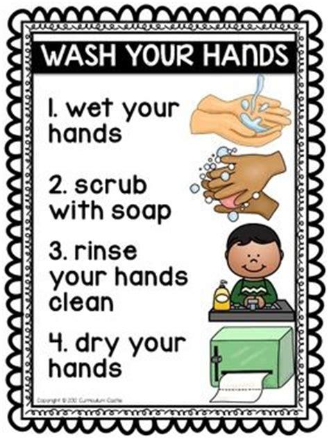 hygiene  healthy habits hand washing brushing teeth
