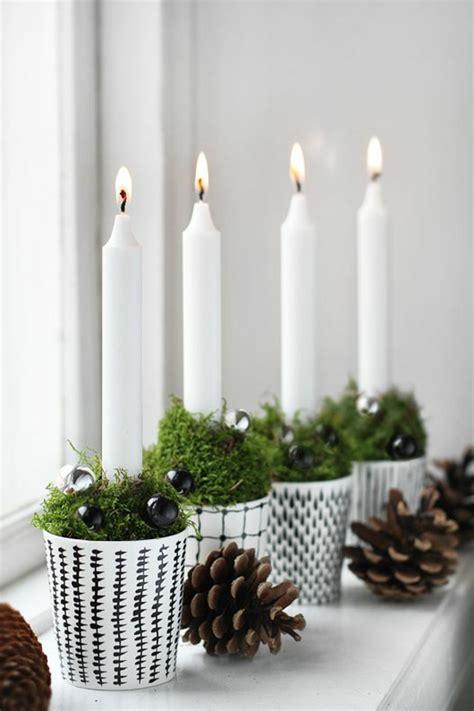 Weihnachtsdeko Fenster Kerzen by Weihnachtsschmuck Im Skandinavischen Stil 46 Ideen Wie