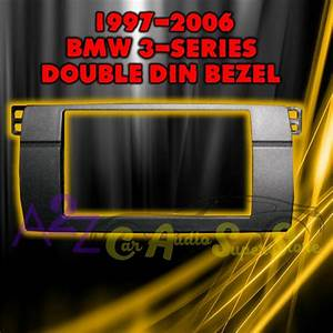 Bmw 3 Series E46 Double Din 2