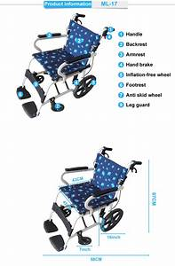 Rehabilitation Therapy Supplier Manual Foldable Wheelchair