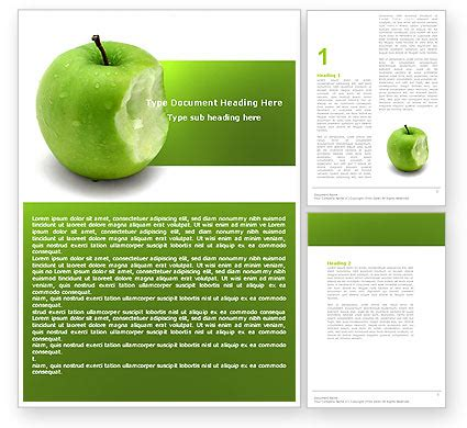 Apple Brochure Template Design And Layout Apple Bite Brochure Template Design And Layout