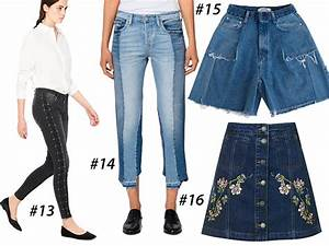 Jeans 2017 trends