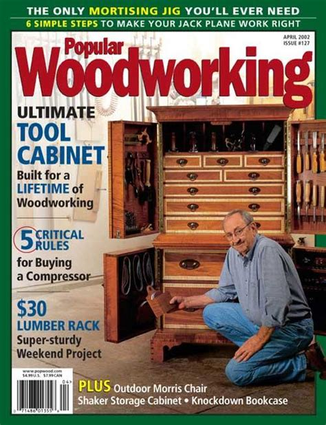 popular woodworking april  digital edition popular
