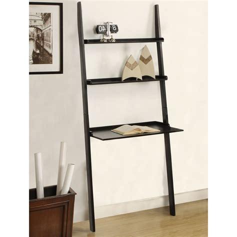 Leaning Shelf by 50 White Leaning Ladder Shelf White Ladder Bookshelf