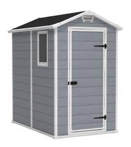keter manor 4x6 plastic storage shed 17194155 on sale now