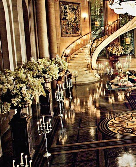Gatsgy Opulent Ballroom Mansion Ballroom Gatsby style