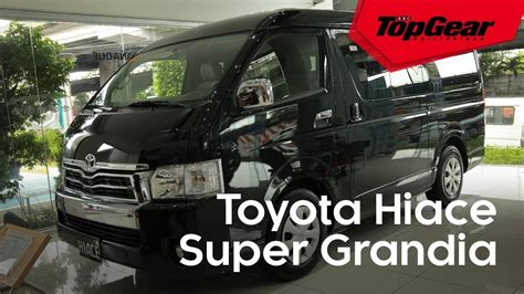 hiace super grandia   van fit   big family
