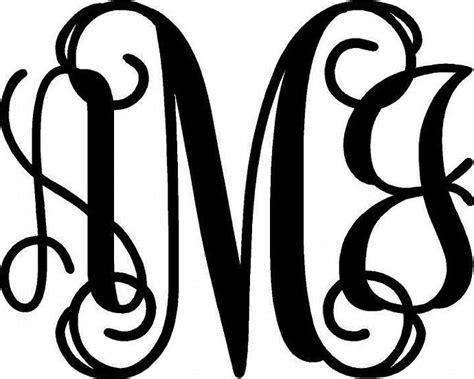 letter monogram fonts interlocking  monogram fonts monogram fonts script monogram font