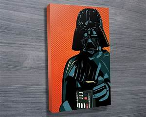 Lichtenstein Darth Vader Art on Canvas Sydney