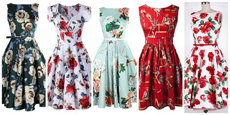 Retro Look by Retro Dresses 3 Styles To Shop Rock The Fashion Tag