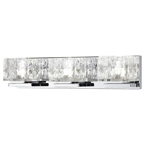 Led Vanity Lights by Home Decorators Collection 3 Light Vanity Fixture