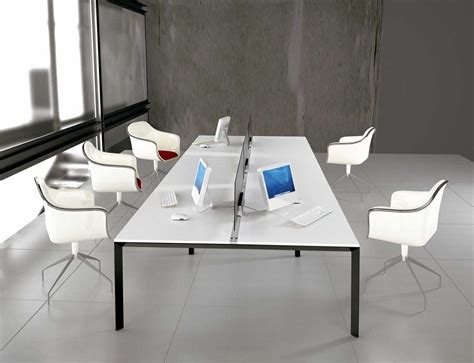 Home Decor Cozy Modern Office Furniture And White