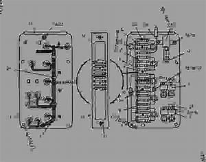 8i4886 Panel Group-fuse - Telehandler Caterpillar Th103