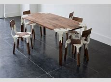 Plastic Nature Table and Chairs Pelidesign