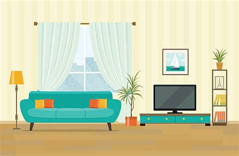 Living Room Clipart Royalty Free Living Room Clip Vector Images