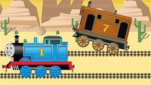 Thomas The Train Vs Toby - Trains For Children - Kids ...