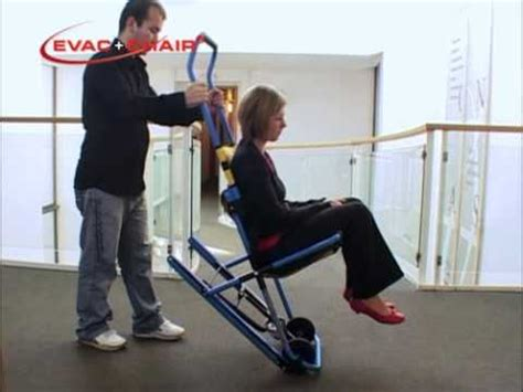 official evac chair training video youtube
