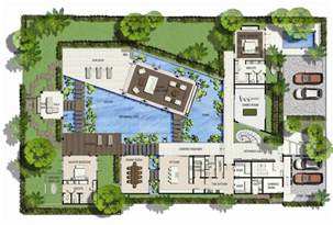 Villa Floorplan world s nicest resort floor plans saisawan