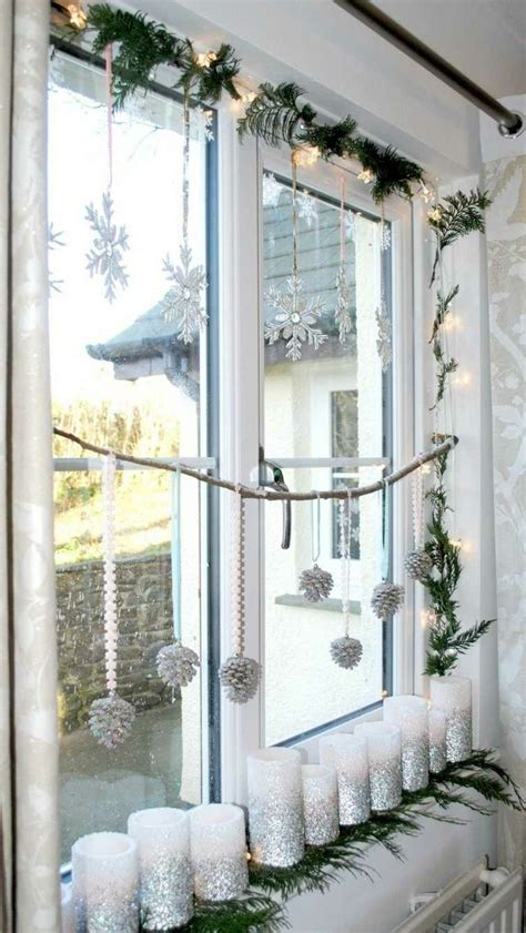 Weihnachtsdeko Für Fensterbank Aussen by Herrrliche Weihnachtsdekoration Fensterbank Silberne