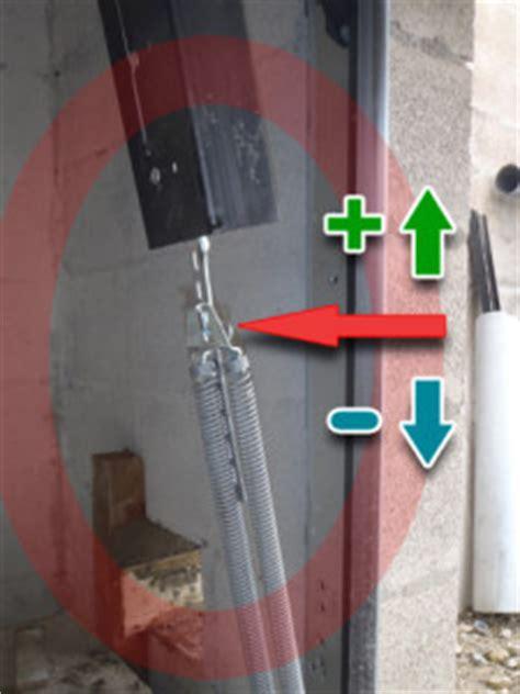 ressort porte de garage basculante 201 quilibrage ressorts porte de garage basculante lamaisonboisdenous la maison en bois de mari