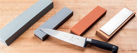 sharpening kitchen knives with a how to use a sharpening a sharpening