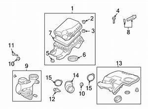Chevrolet Malibu Engine Air Intake Hose  2 4 Liter  2 4