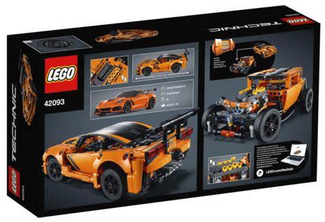 nieuws nieuwe visuals lego technic  sets verschenen