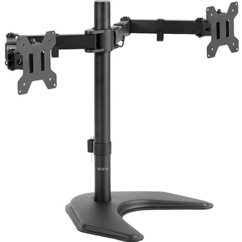 adjustable monitor stand for desk dual lcd monitor desk stand mount free standing adjustable