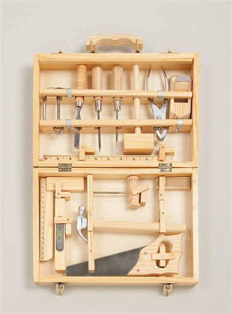 wooden tool box kids woodworking projects plans