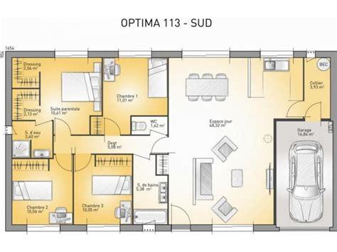 plan maison 6 chambres 1000 ideas about plain pied on maison moderne