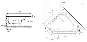 Taille Baignoire Angle by Baignoire Taille Standard Solutions Pour La D 233 Coration