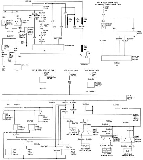 1990 toyota hilux wiring diagram 6 hotrod diagram