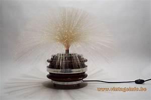 Rotating Fiber Optic Table Lamp  U2013vintage Info  U2013 All About