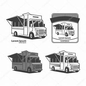 food truck logo — Stock Vector © evgenybornyakov #99075310