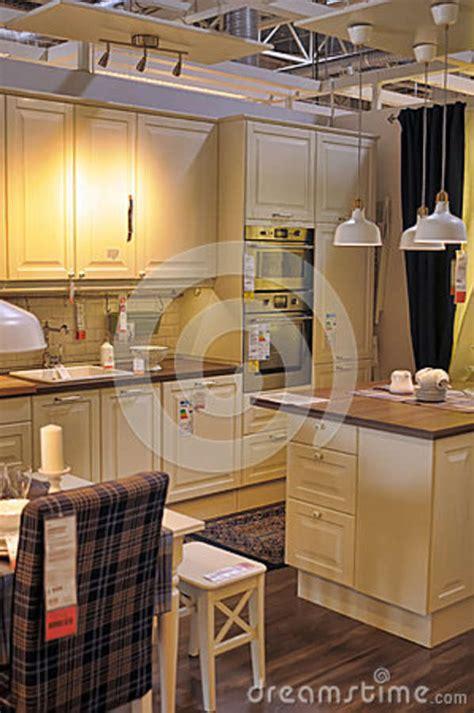 magasin ikea cuisine cuisine dans le magasin de meubles ikea photo éditorial